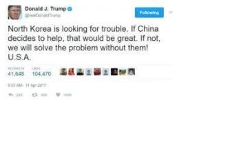"President Trump ""Seriously Undermining"" South Korea-U.S. Alliance"