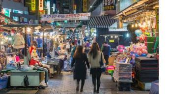 Top 5 Night Markets in Seoul