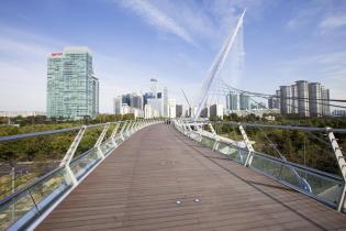 Yeouido Saetgang Bridge, Seoul
