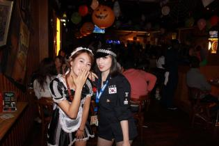 Halloween 2011 at Thursday Party Kyungsung