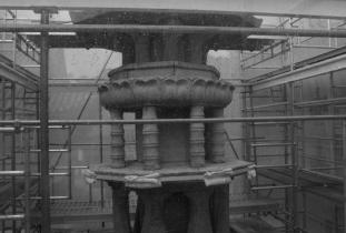 Pagoda Scaffold At Bulguksa